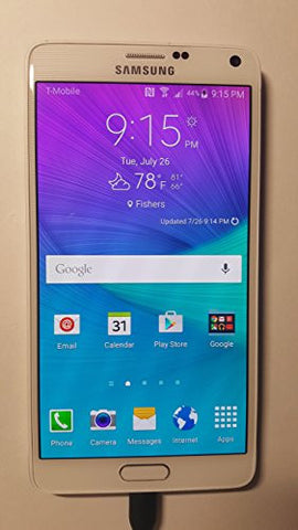 Samsung Galaxy Note 4 SM-N910A- 32GB 4G LTE-AT&T Factory Unlocked