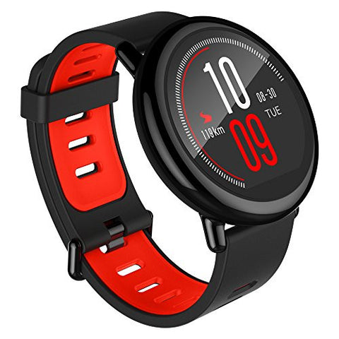 Amazfit PACE GPS Running Smartwatch, 11 Days Battery Life - Black Band