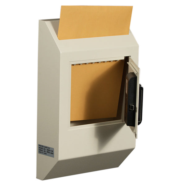 WDB-110E Wall-Mount Locking Payment Drop Box