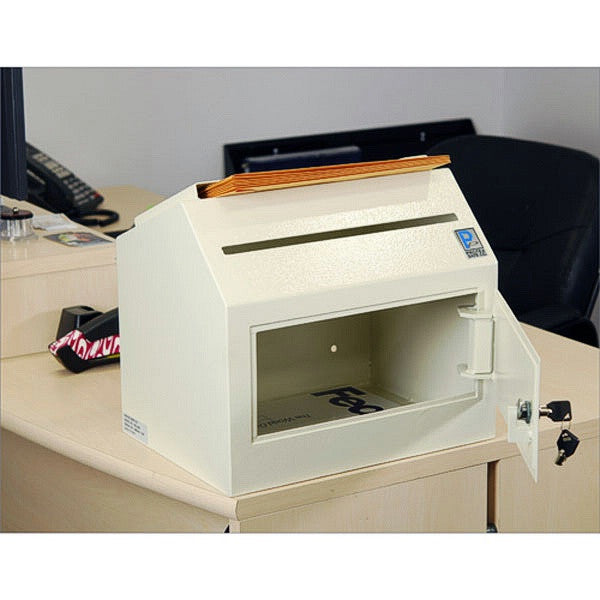 SDL-500 Desktop or Wall-Mount Locking Payment Drop Box
