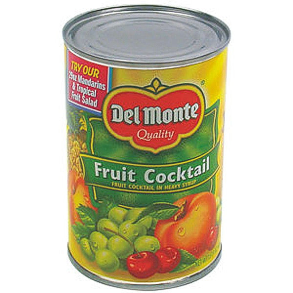 Del Monte Fruit Cocktail Can Diversion Safe image