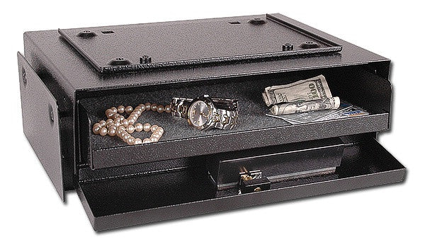 V-Line 3912-S BLK Hide-Away Safe