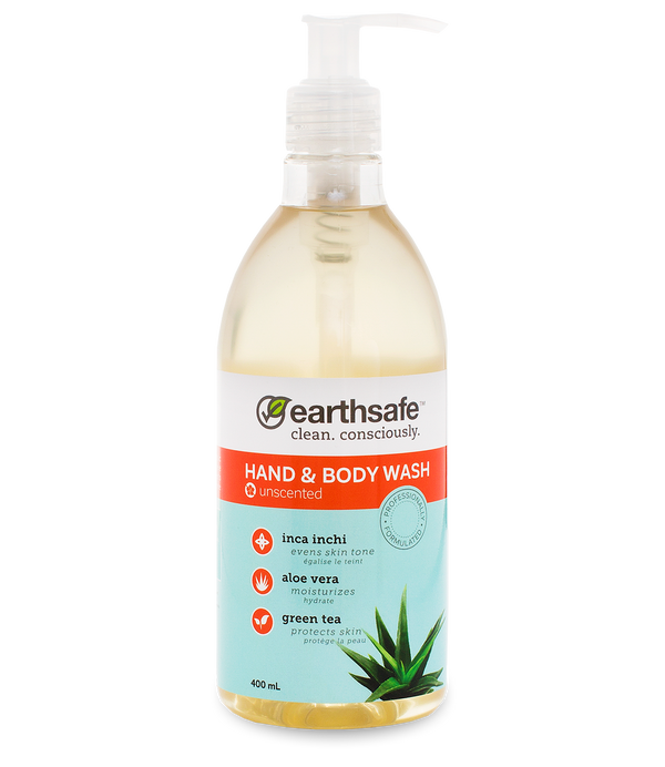 earthsafe™ Unscented Hand & Body Wash