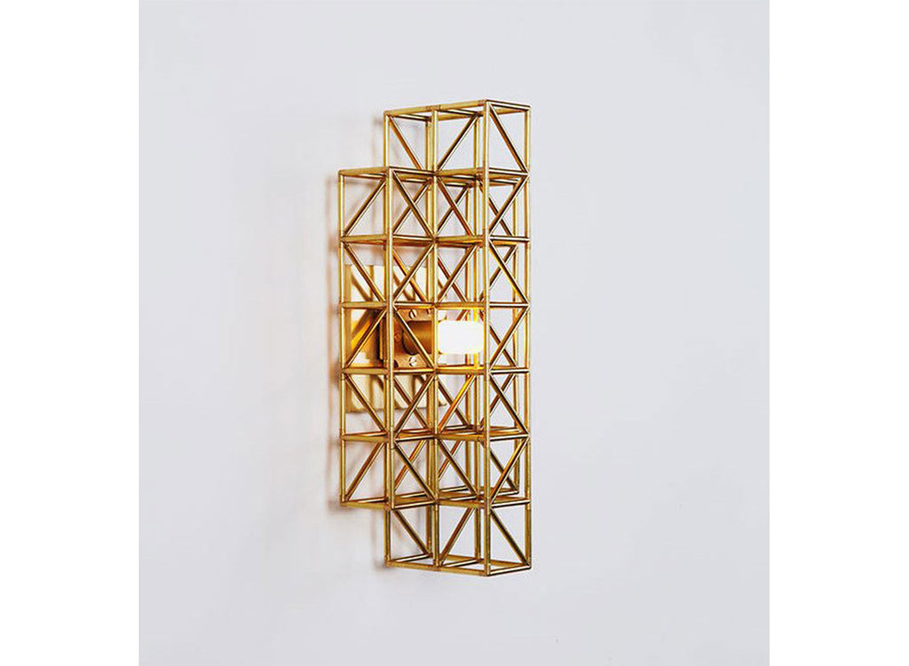Gridlock Wall Sconce