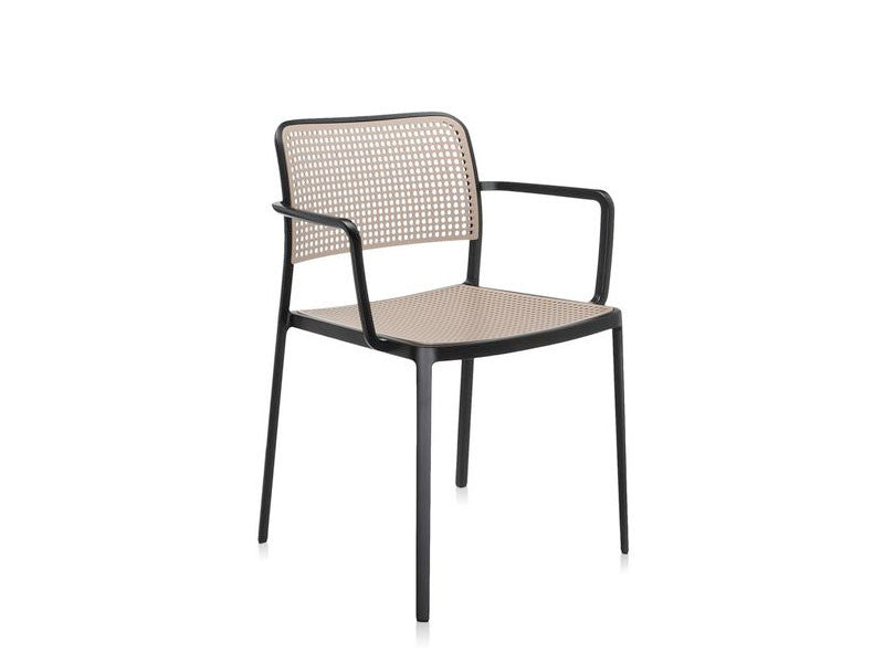 ... Kartell Audrey Chair 2 BlackSand ...