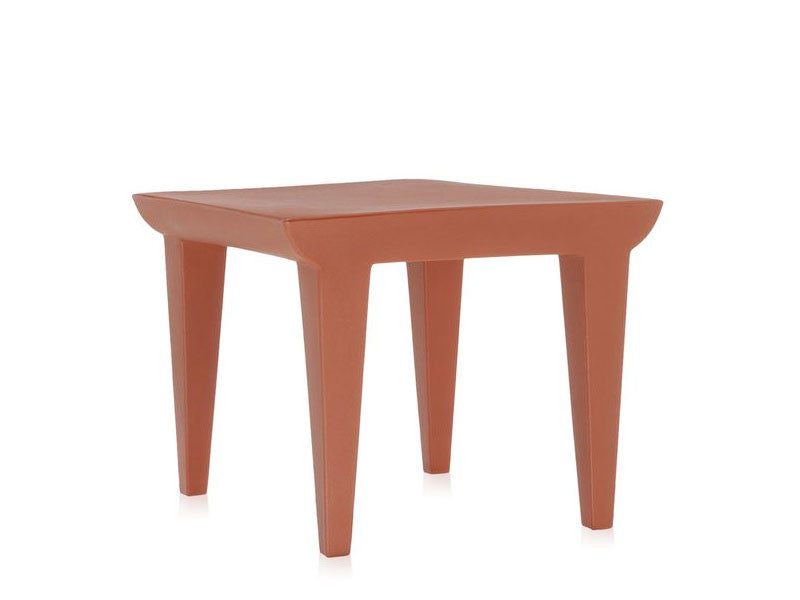 Kartell-Bubble-Table-1-Terracotta