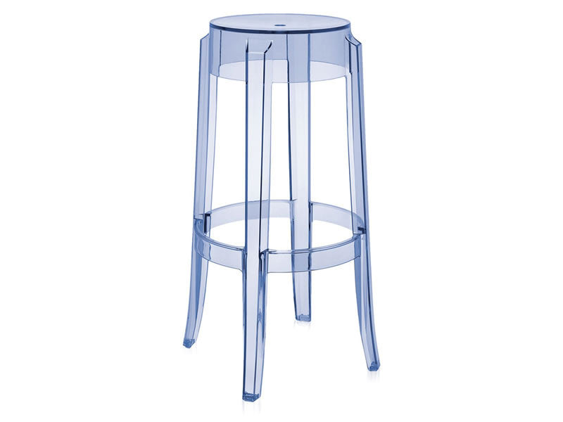 Charles Ghost Barstool, Set of 2