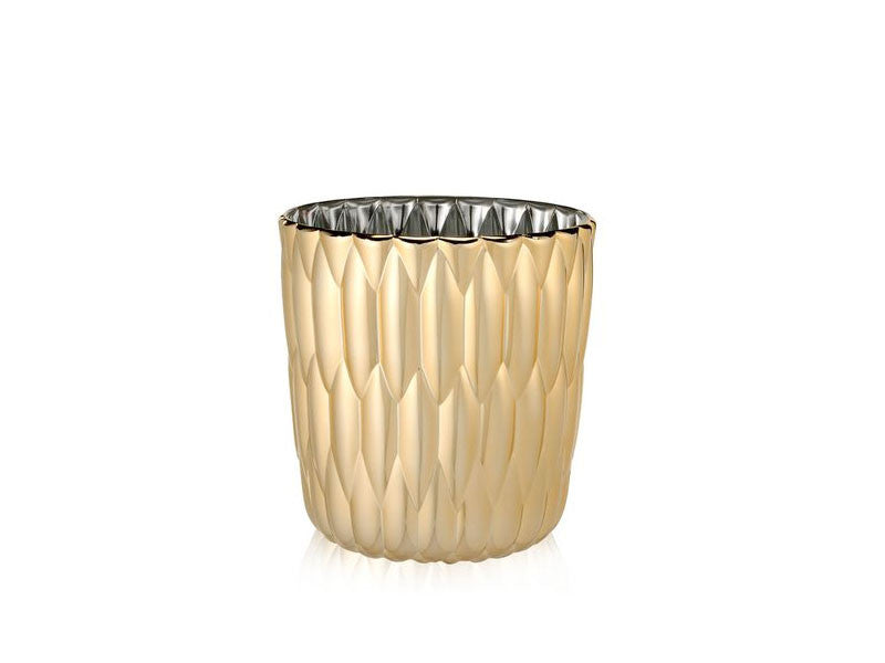 Kartell-Jelly-MetallicVase-Gold
