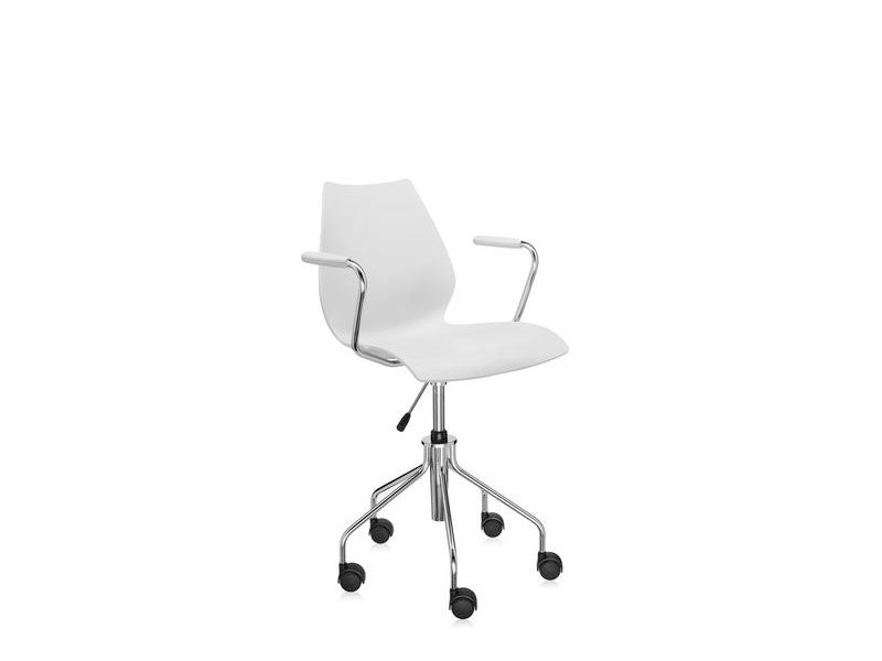 Kartell-Maui-OfficeArmchair-2-PaleGrey