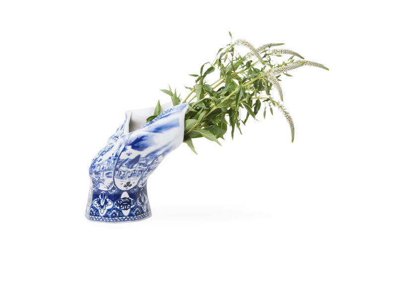 Blow Away Porcelain Vase