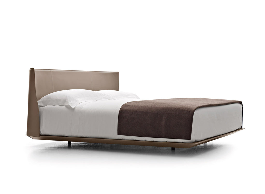 Alys Leather Bed