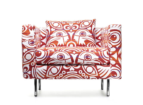 Boutique Eyes of Strangers Armchair