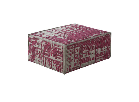 Canevas Abstract Modular Ottoman