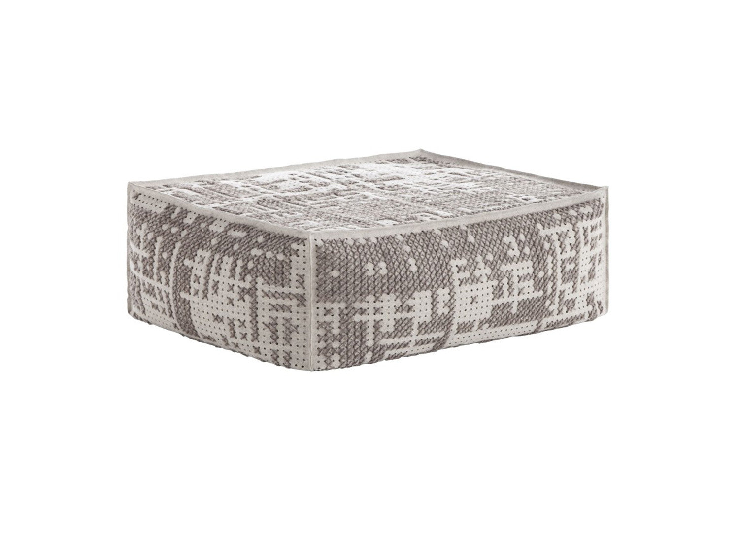 Canevas Abstract Soft Ottoman