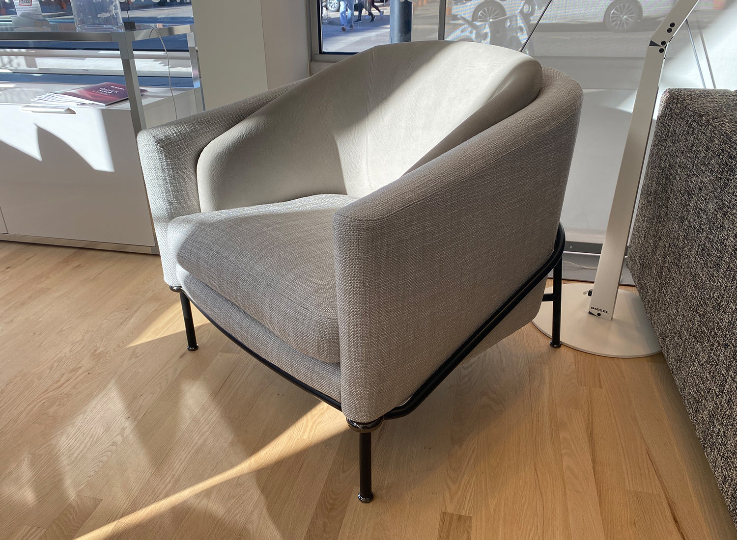 Fil Noir Armchair - Floor Model Sale
