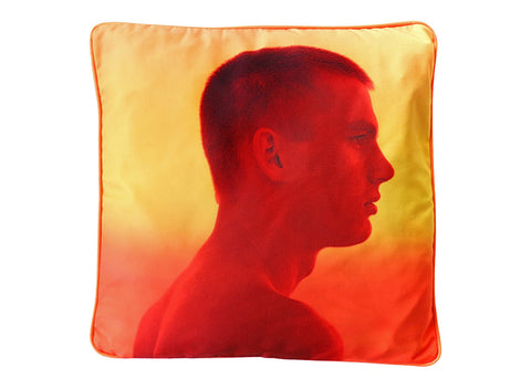 Untitled 1 by Jack Pierson Art Pillow