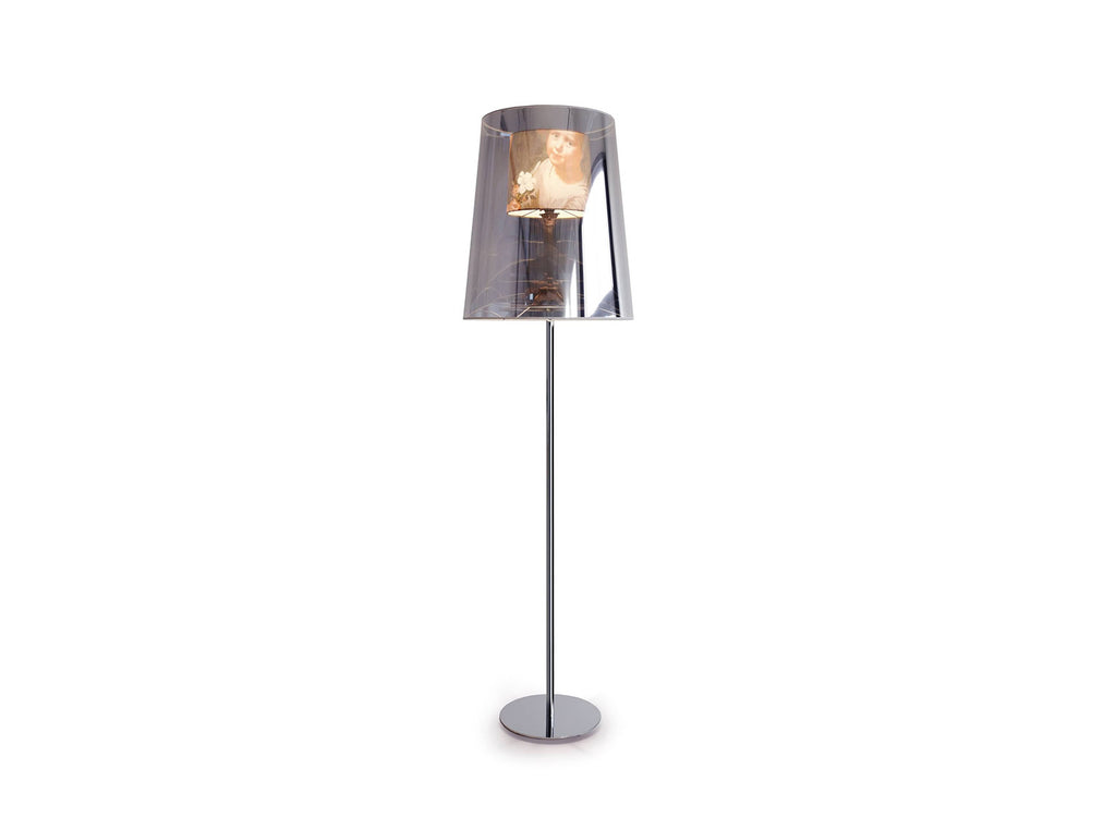 Light Shade Floor Lamp