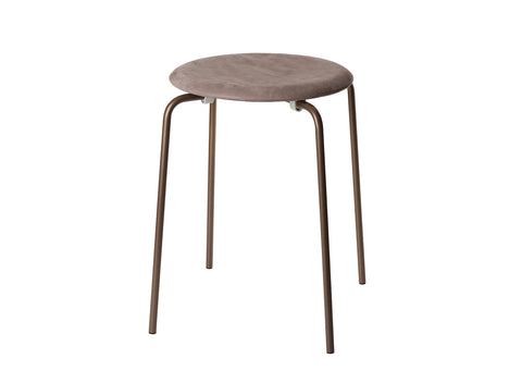 Dot Stool in Nubuck Leather