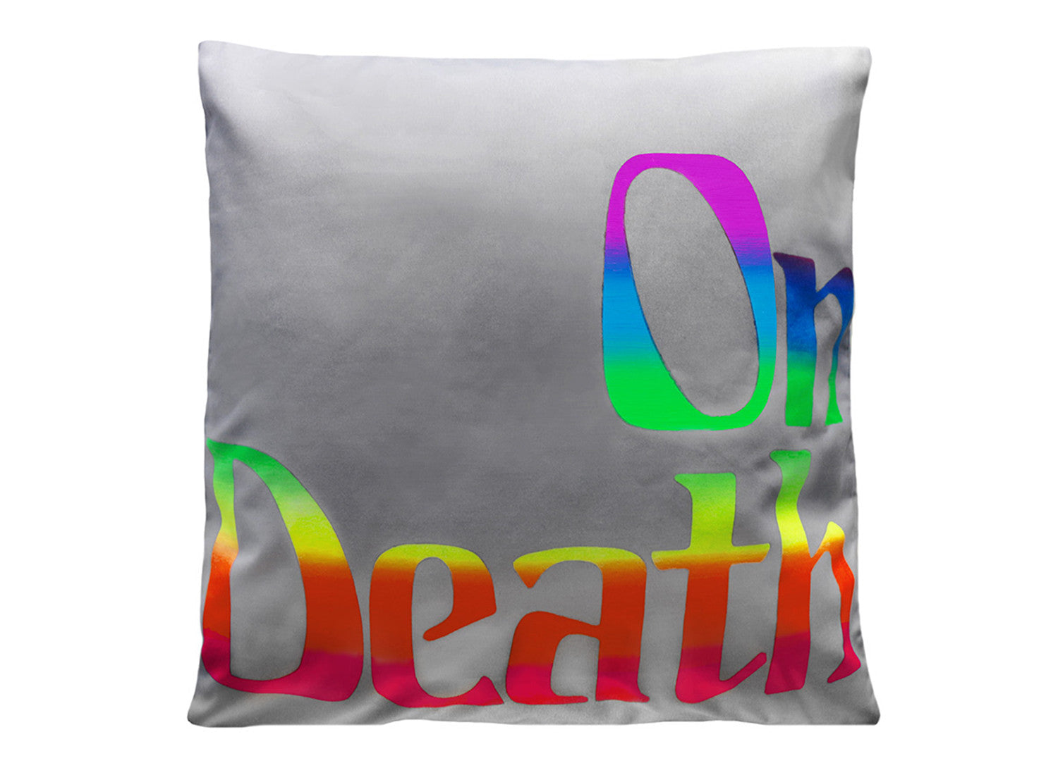 On Death Art Pillow