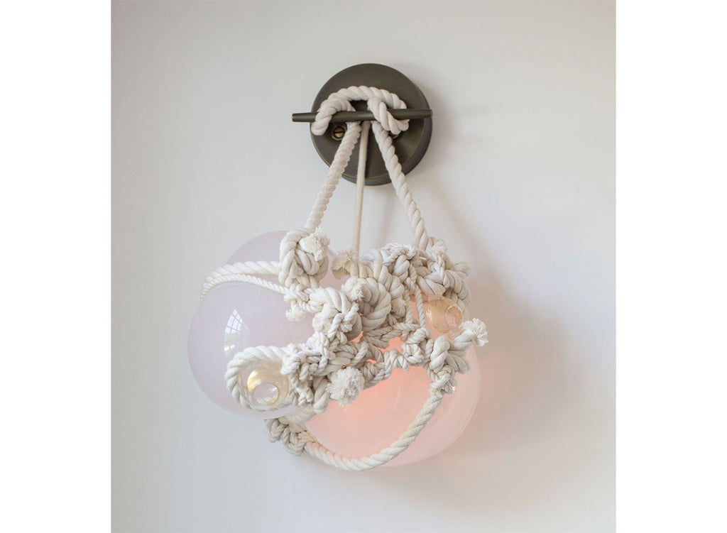 Knotty Bubbles Wall Sconce