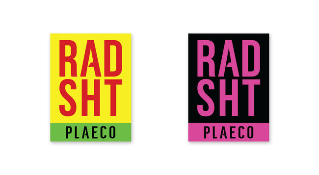 RAD SHT Stickers