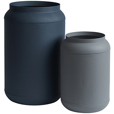 Canvas and Sasson Sky Vases Set of 2