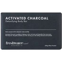 Freshwater Farm - Activated Charcoal Body Bar