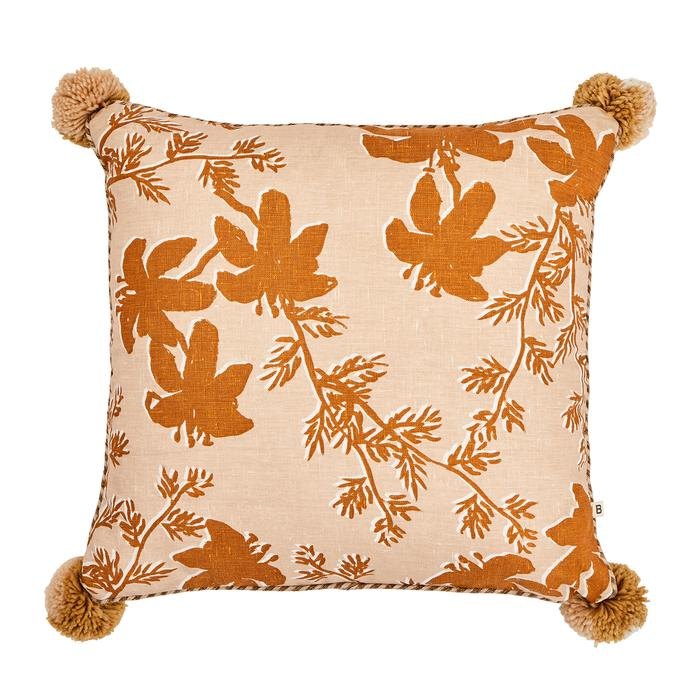 Bonnie + Neil - Cushion - Tigerlily Nutmeg