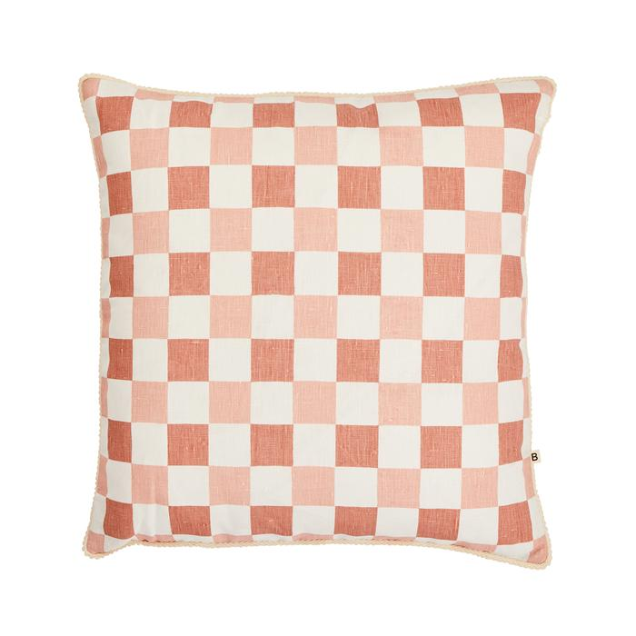 Bonnie + Neil - Cushion Checkers Blossom 50cm