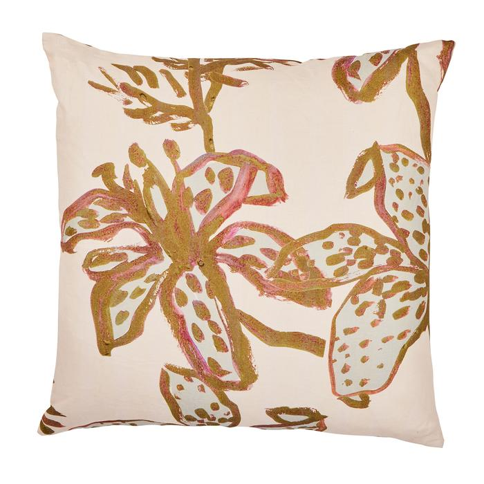 Bonnie + Neil - Cushion Spotted Tigerlily Olive
