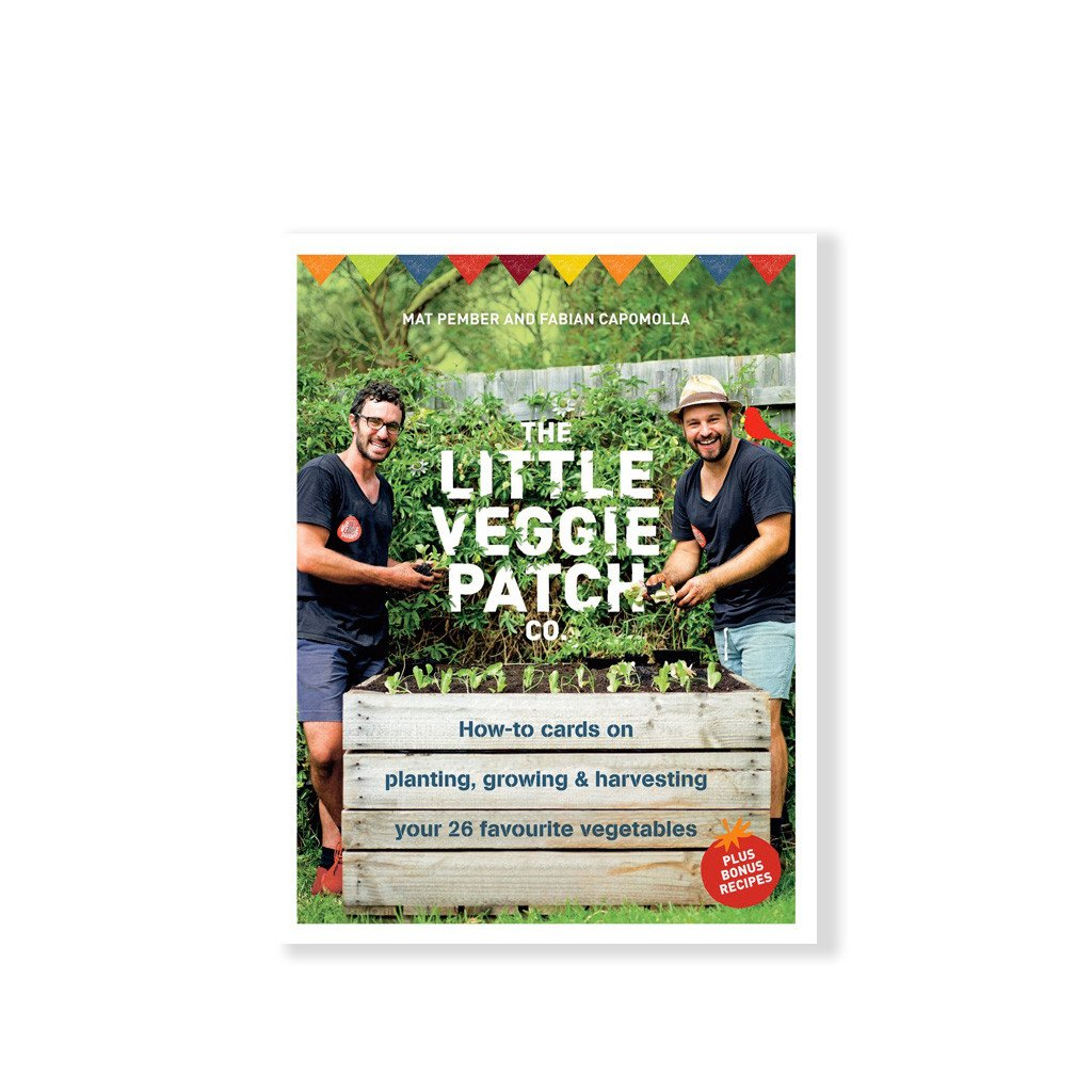 Little Veggie Patch How to Grow Cards