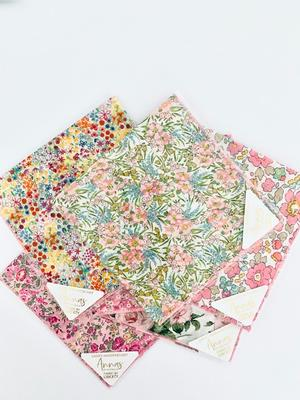 Annas of Australia - Liberty Print Hankies