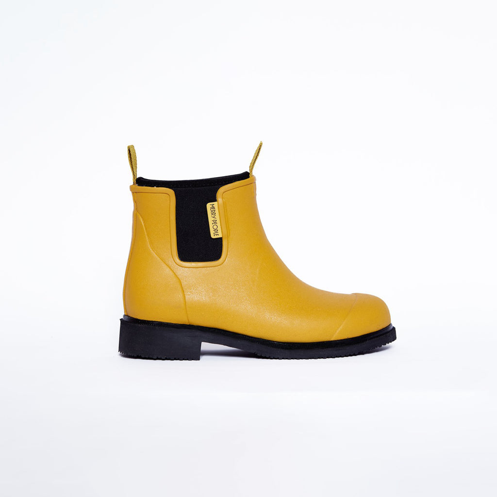 Merry People Bobbi Boots Mustard