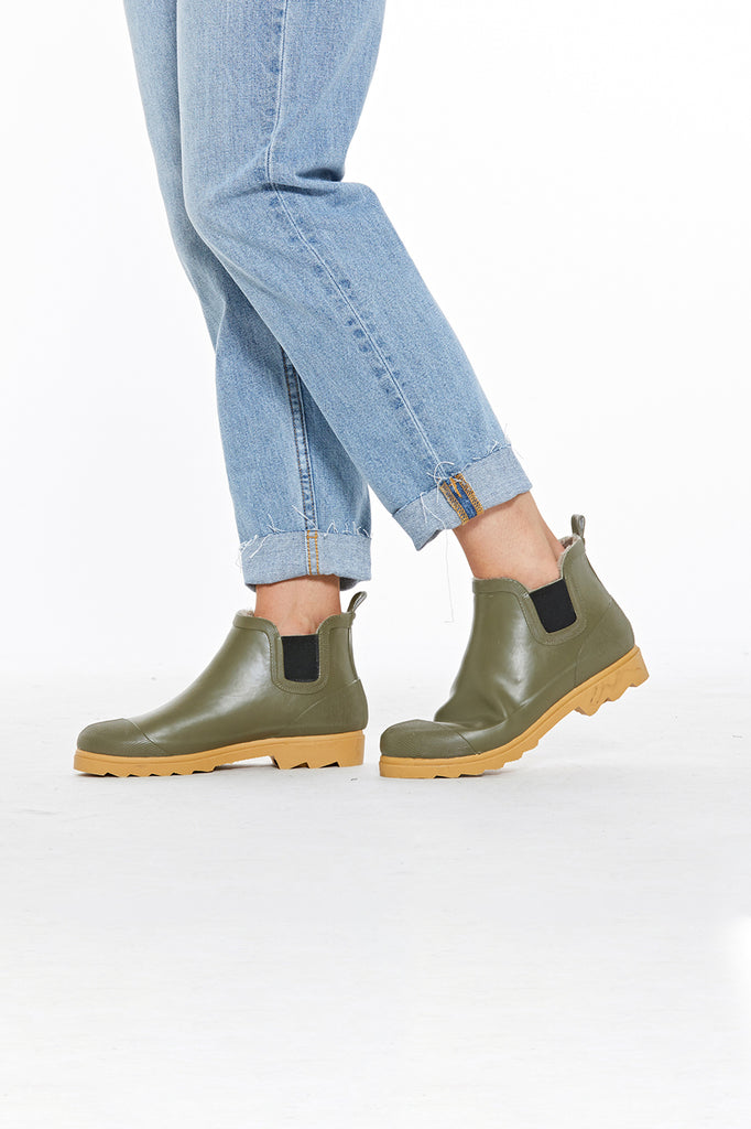 Marlo Gum Boot - Green
