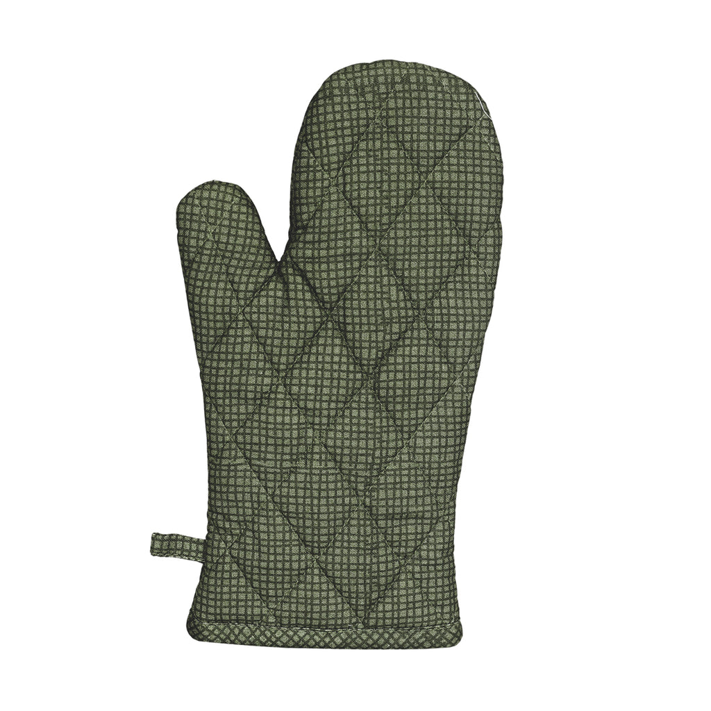 Raine and Humble Oven Glove - Lily Pond Green