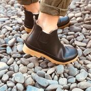 Marlo Gum Boot - Black