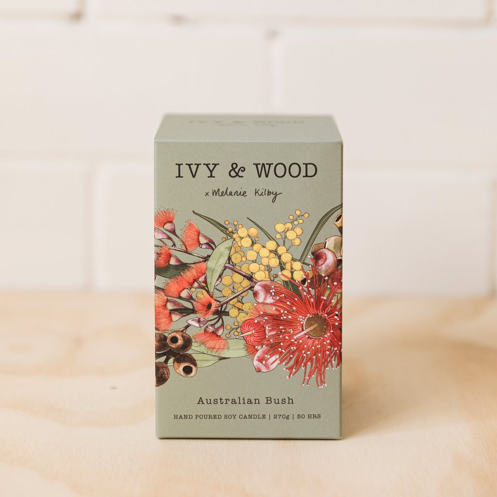 Ivy & Wood Candle - Australian Bush