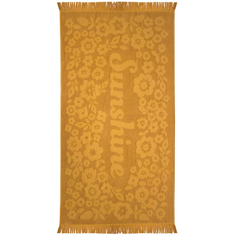 Bambury Express Sunshine Beach Towel - Ochre