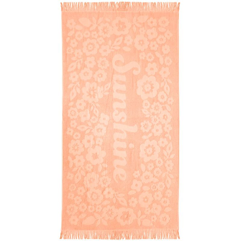 Bambury Express Sunshine Beach Towel - Peach
