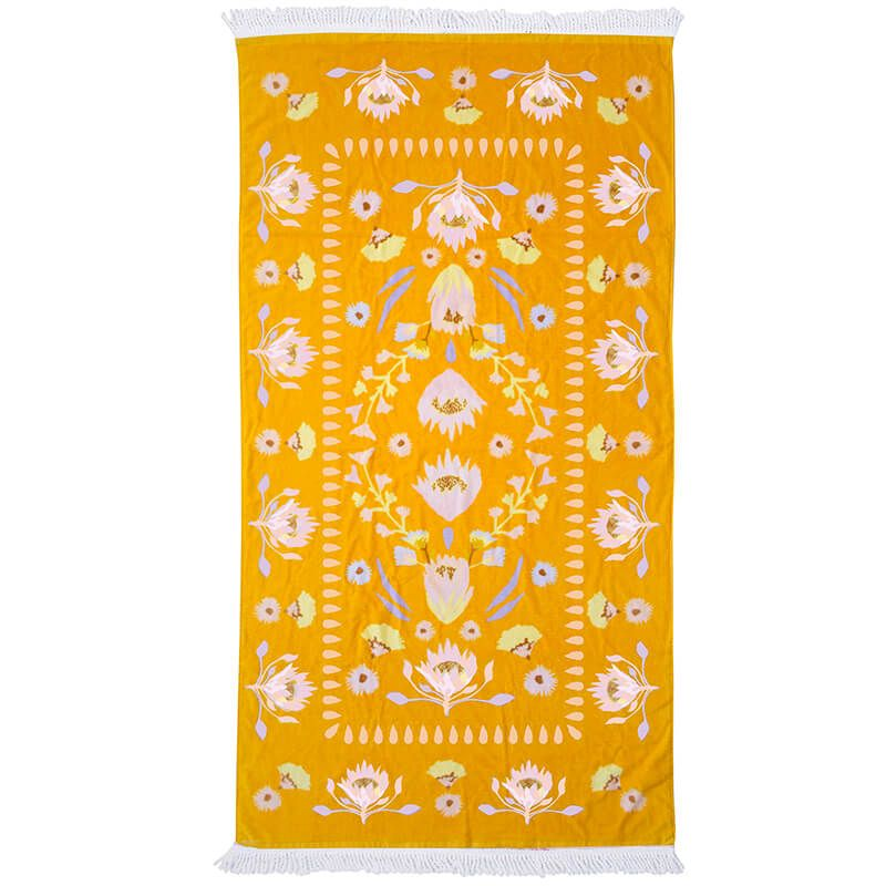 Bambury Avalon Printed Beach Towel - 80 x 160cm