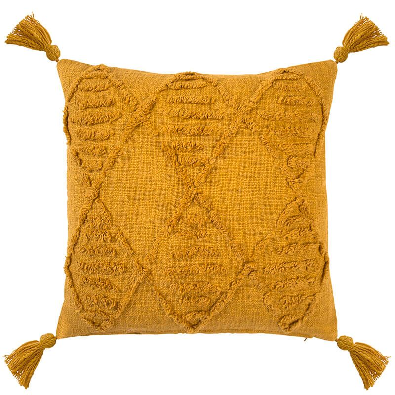 Bambury Quinn Cushion - Ochre