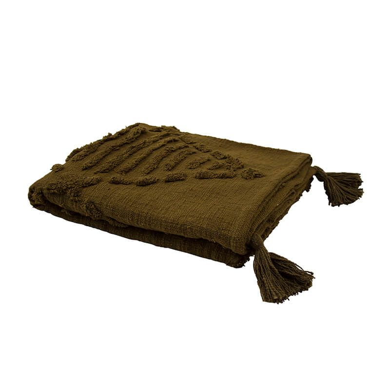Bambury Quinn Throw Rug - Elm