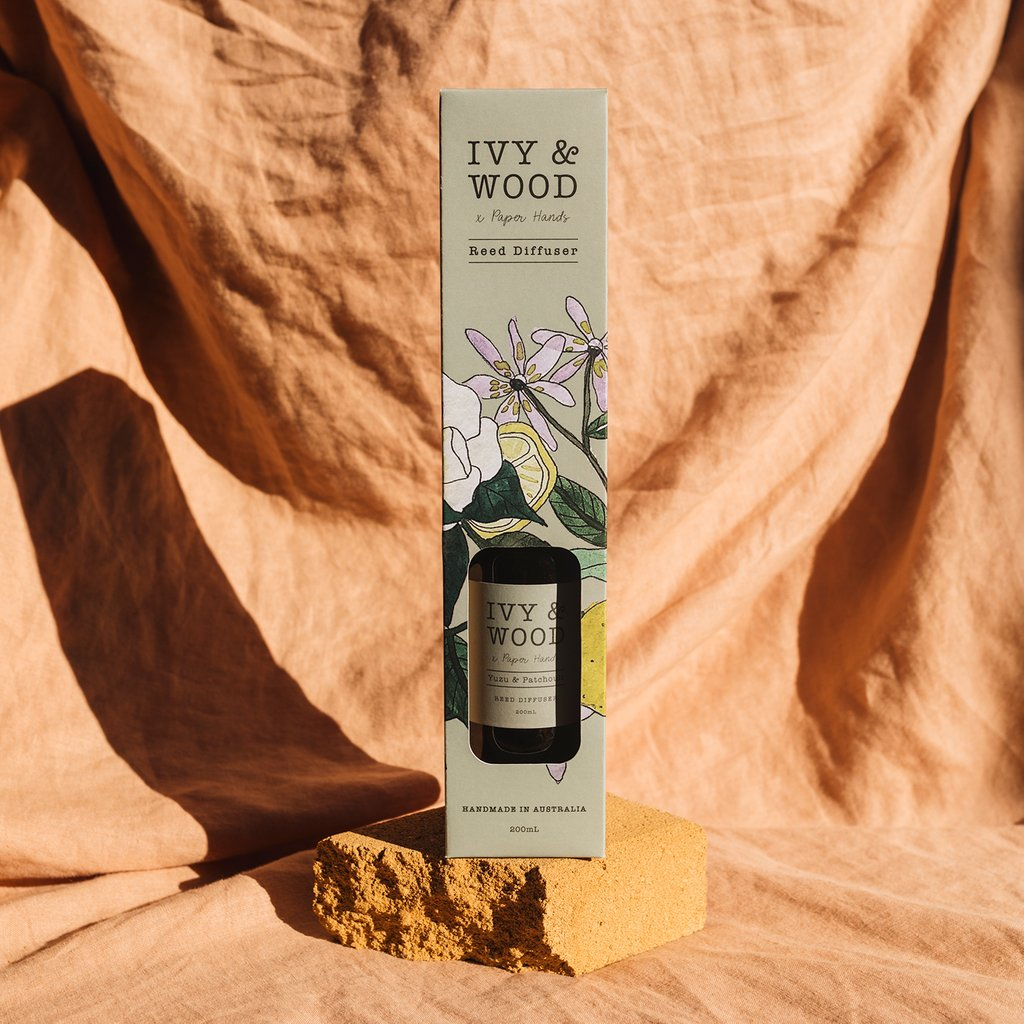 Ivy and Wood Diffuser -  Yuzu and Patchouli