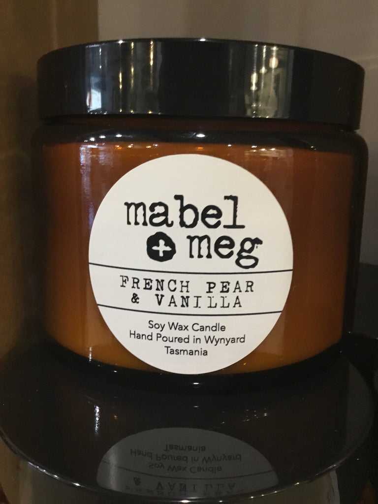 Mabel and Meg - French Pear Vanilla XL