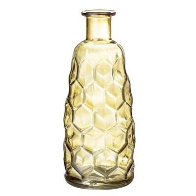 French Bazaar - Yellow Glass Vase