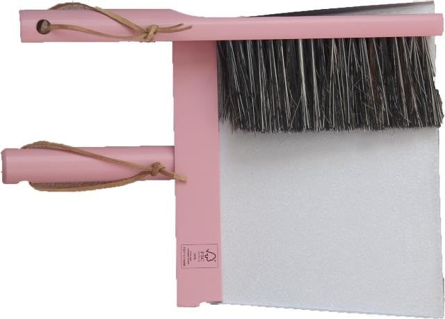 Heaven - Three piece Broom and Dustpan Set Pink