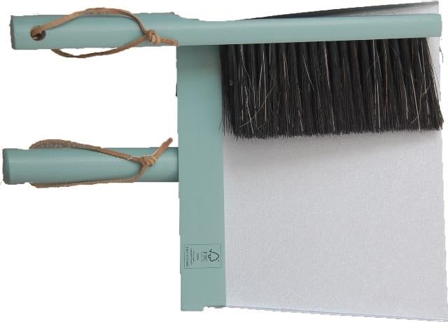 Heaven - Three piece Broom and Dustpan set Pistachio