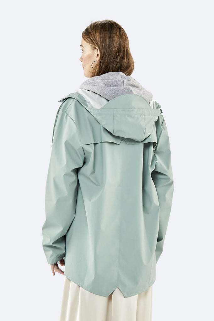 Rains - Dusty Mint Jacket