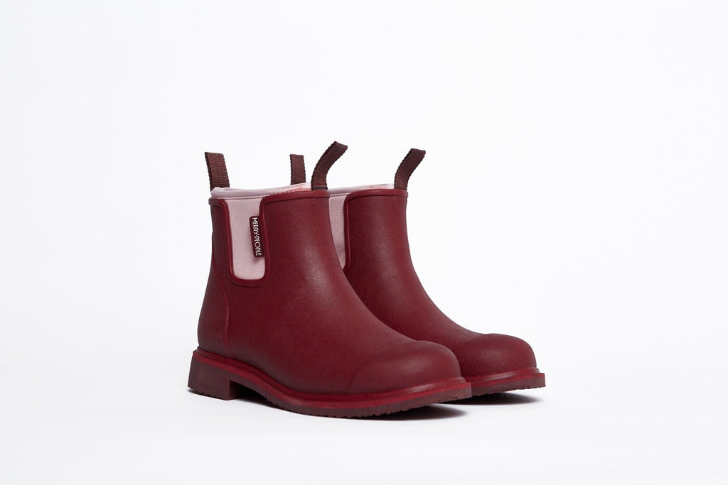 Merry People Bobbi Boots Beetroot/Pink