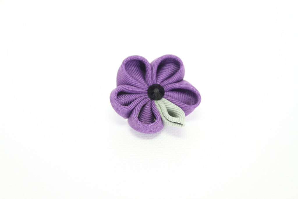 Lavendar & Pale Green Lapel Push Pin